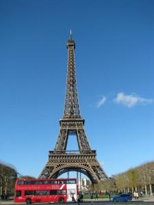 Визитная карточка - Эфелева башня