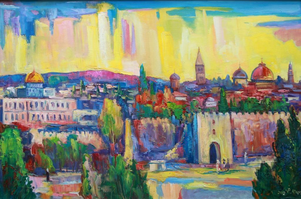 Иерусалим. Роман Ющак