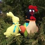 Зайчик и петушок - сладкая парочка