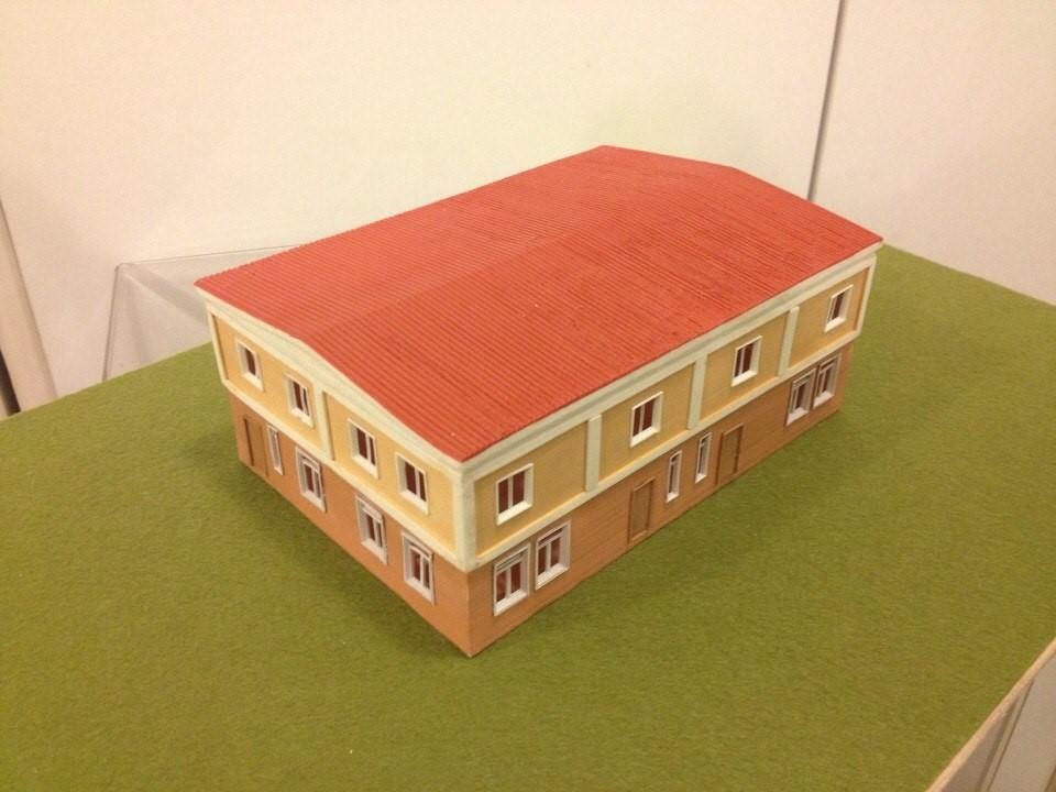 Дом. Напечатан на 3D принтере
