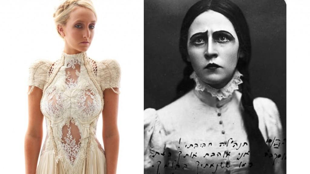 Платье, придуманное Mor Kfir и театральная муза