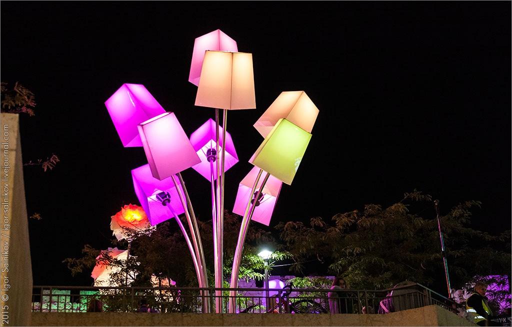 Фестиваль света в Иерусалиме. Фото - Игорь Сальников