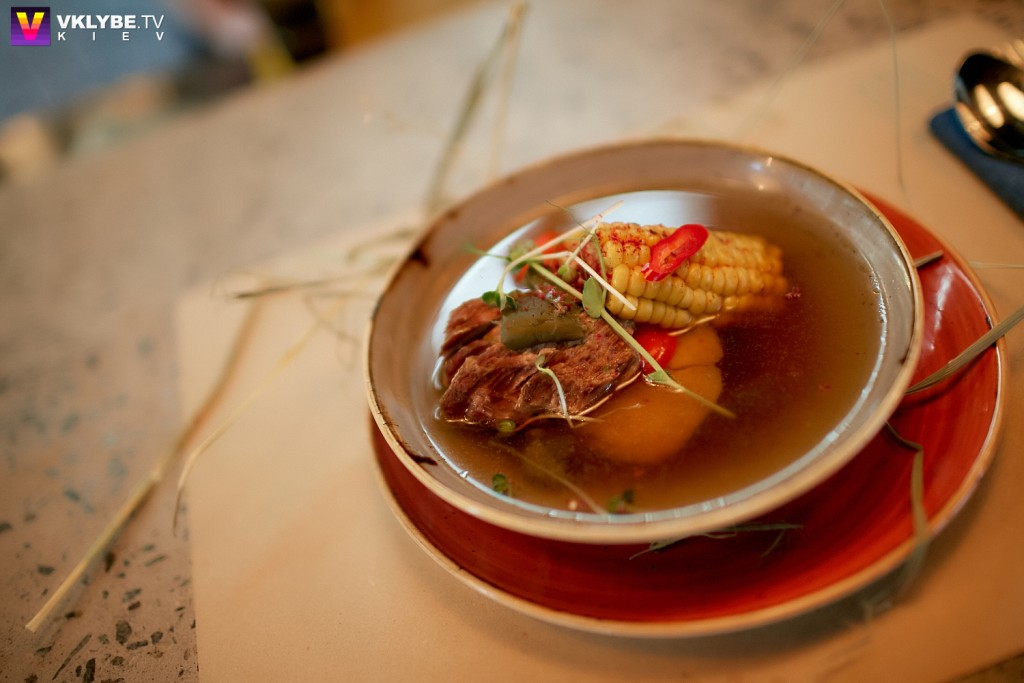 Мексиканский суп касуэла