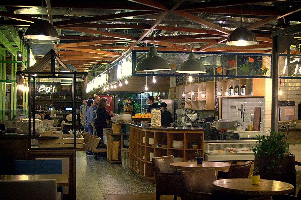 Mercato Italiano - итальянский вечер в центре Киева: интерьер