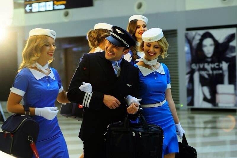 """Как аэропорт """"Борисполь"""" 9 ноября """"Небесных ласточек"""" принимал"""