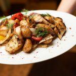 Овощи гриль, - ничего лишнего, все понятно, просто и вкусно
