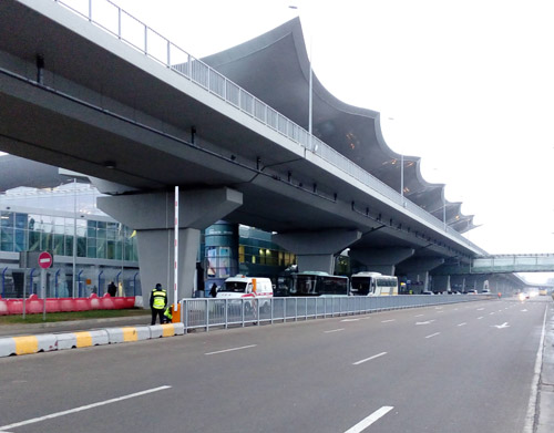 KBP: вход в терминал D